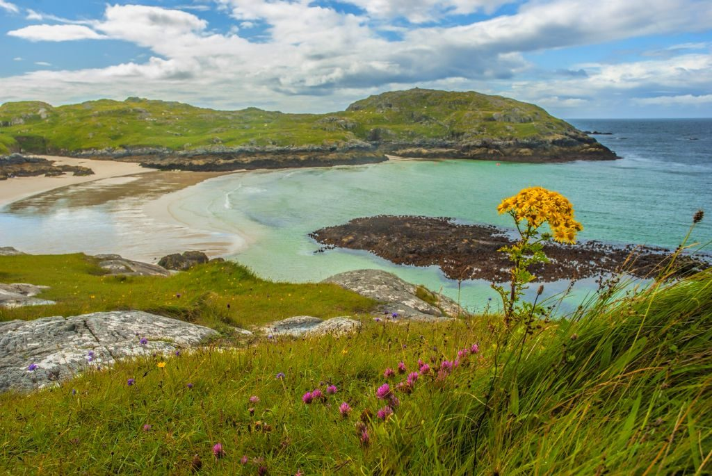 Arisaig, Scottish Highlands in Scotland