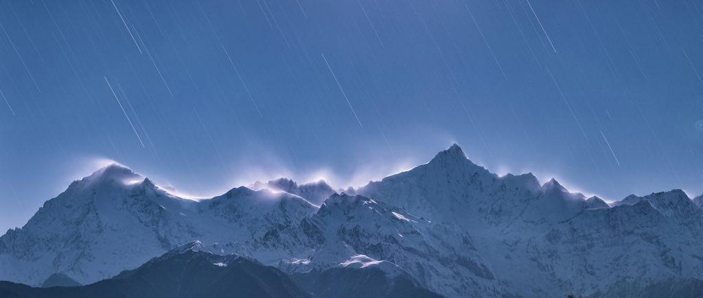 Star Track in Kawakarpo © Zhong Wu