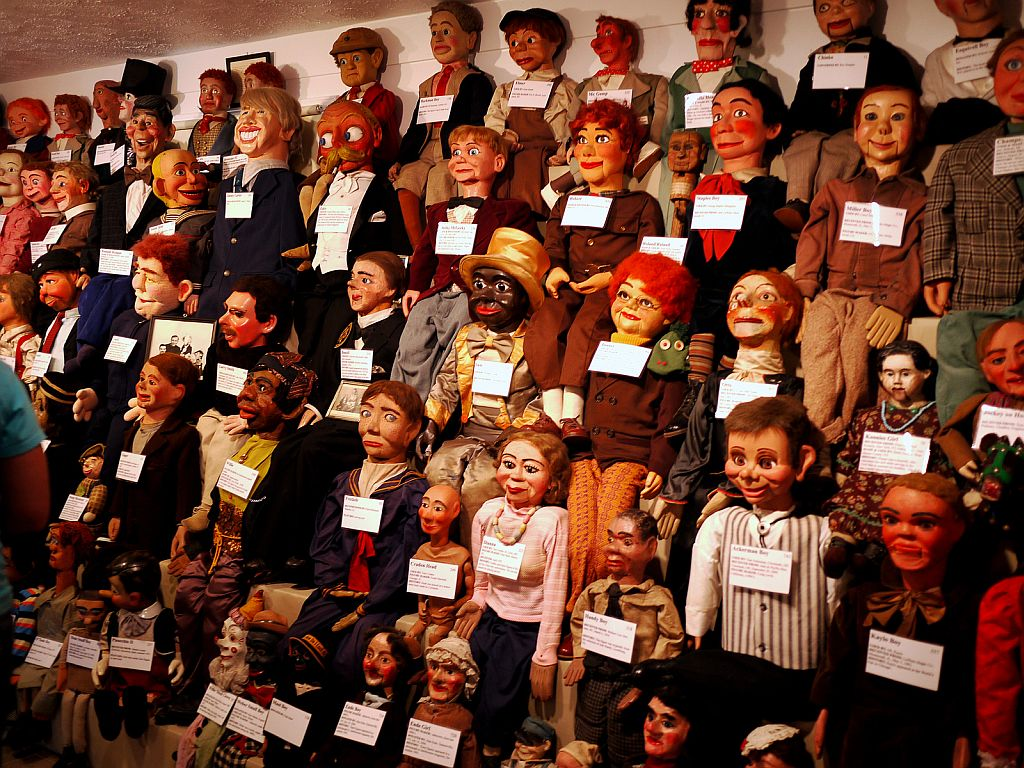 Vent Haven Ventriloquist Museum in Kentucky, United States