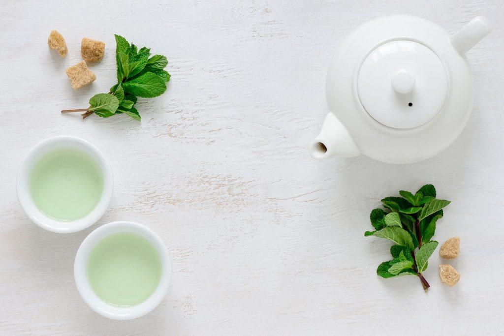 Green Tea organic skincare and hair care hacks