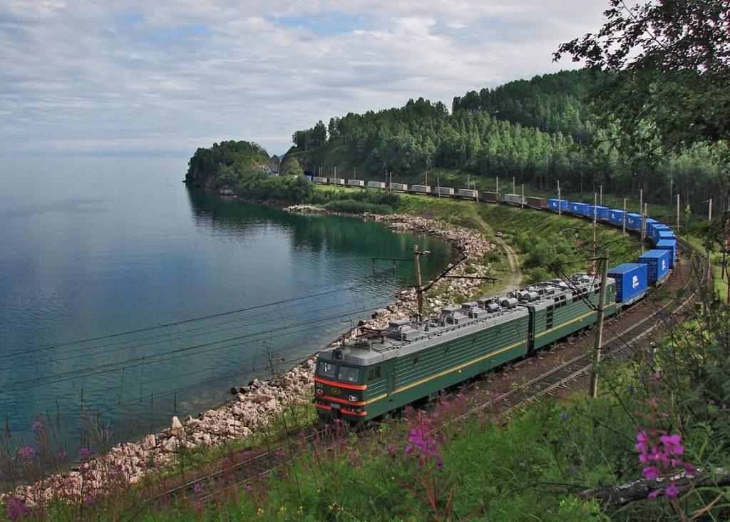 trans siberian railway lake baikal - 1024 x 732