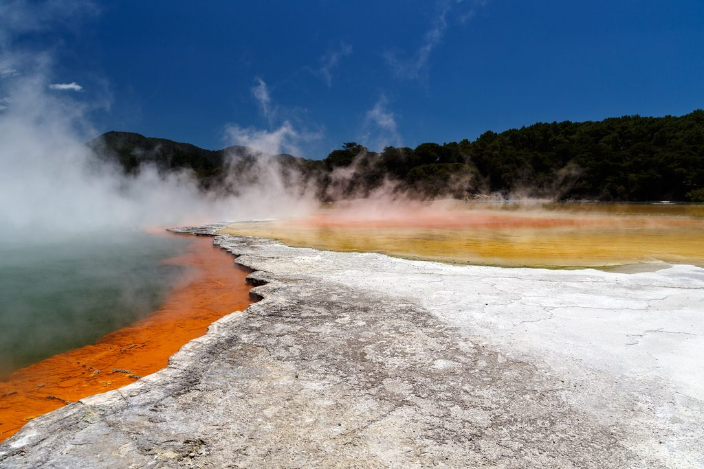 Wai-O-Tapu Geothermal Park New Zealand