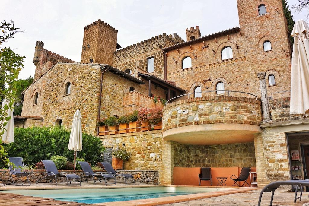 Castello di Monterone castle hotel