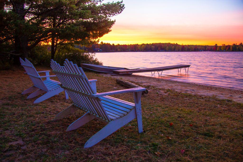 Riverside Sunset Keweenaw Peninsula, Michigan