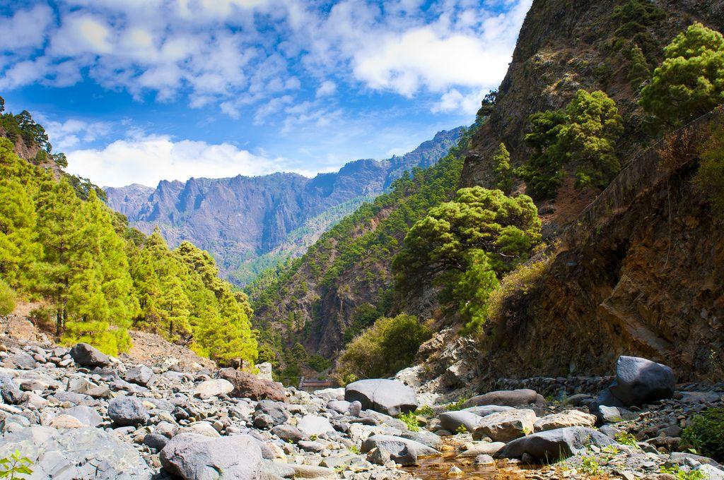 La Caldera de Taburiente, La Palma Island, Canary Islands