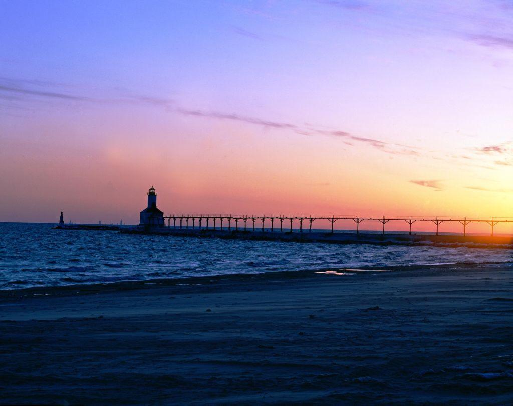 Lake Erie, Michigan