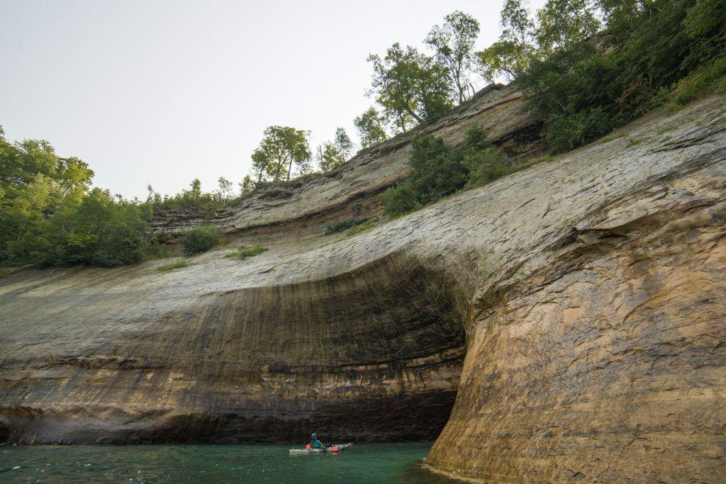 Pictured Rocks National Lakeshore, Michigan Kayaking