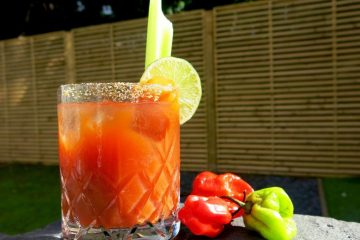 Sangre Mexicana - Studio Bar - 1024 x 768 Bloody Mary with a Mexican twist cocktail recipe