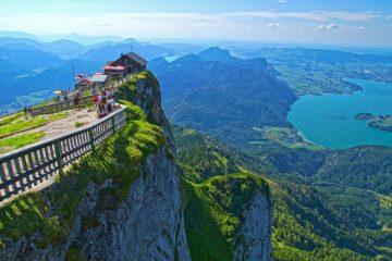 Schafberg Mountain, Austria travel