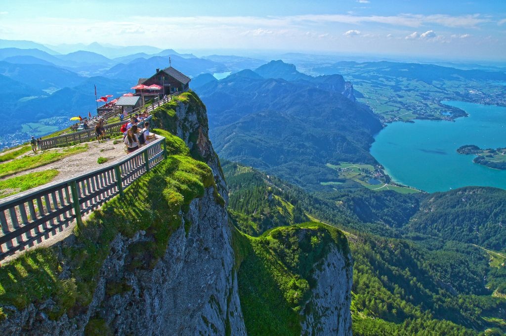 The View from this Mountain Hut in Austria will blow you away
