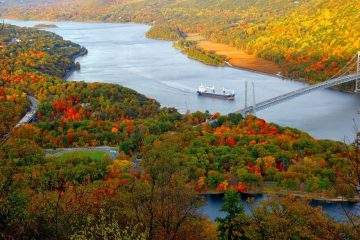 bear mountain USA fall travel