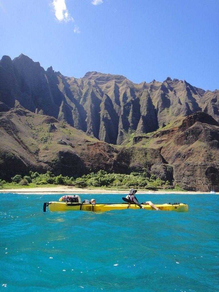 kayak hawaii na pali