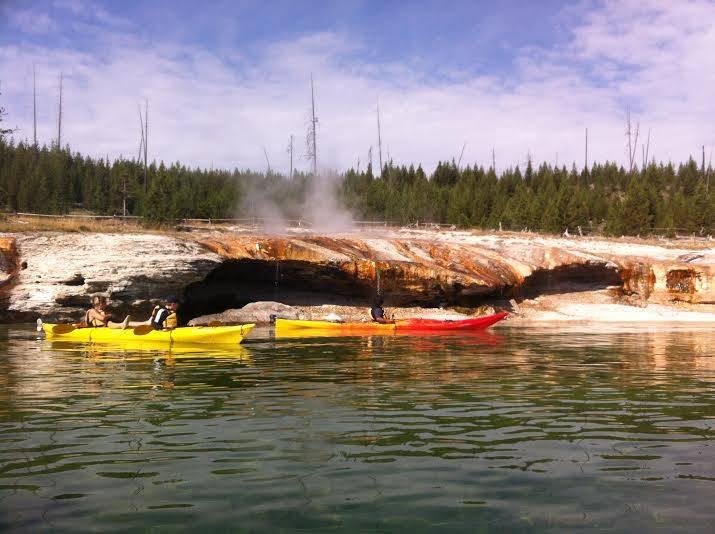 Yellowstone National Park kayaking