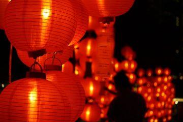 mid-autumn festival lanterns china travel