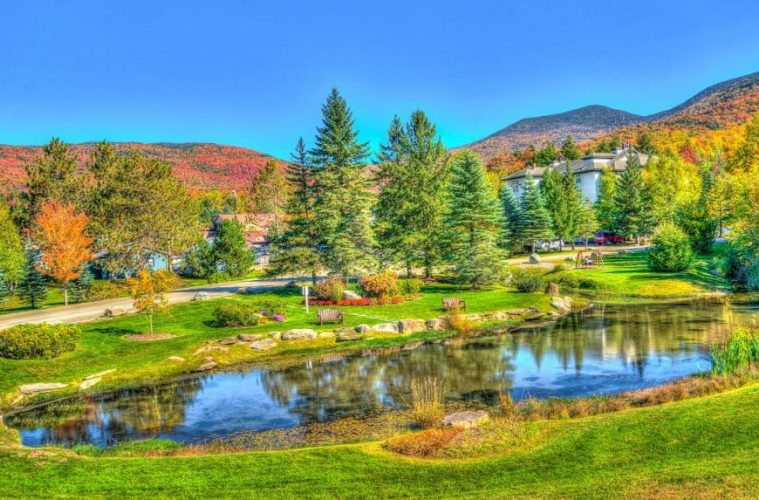 vermont fall getaways in America
