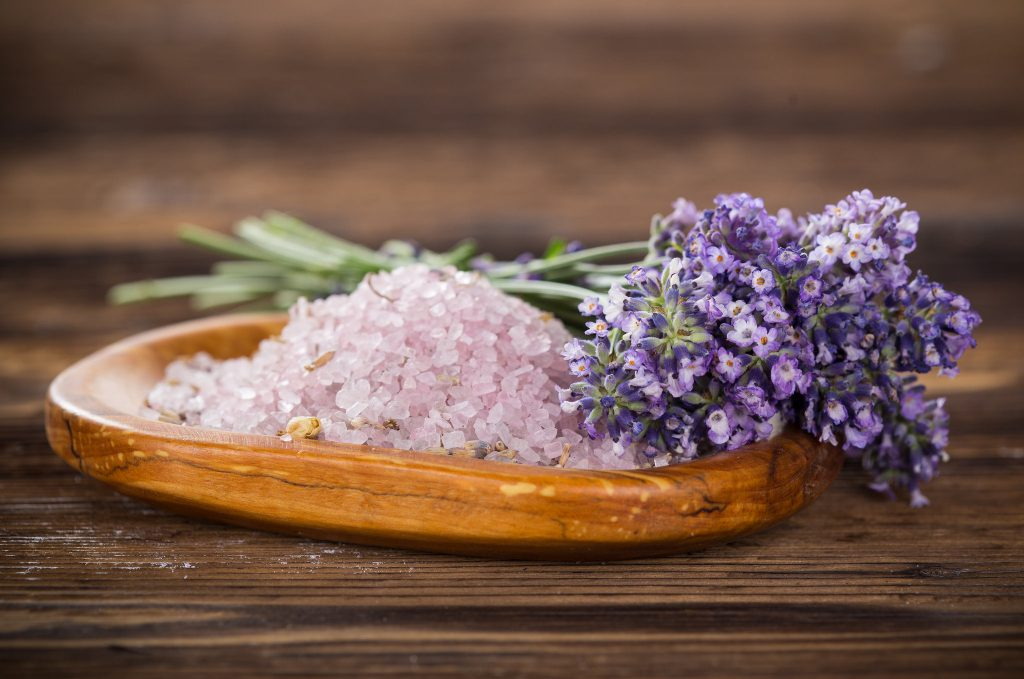 DIY Flower Bath Salts