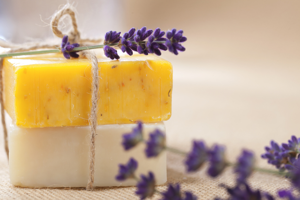 DIY Flower Soap