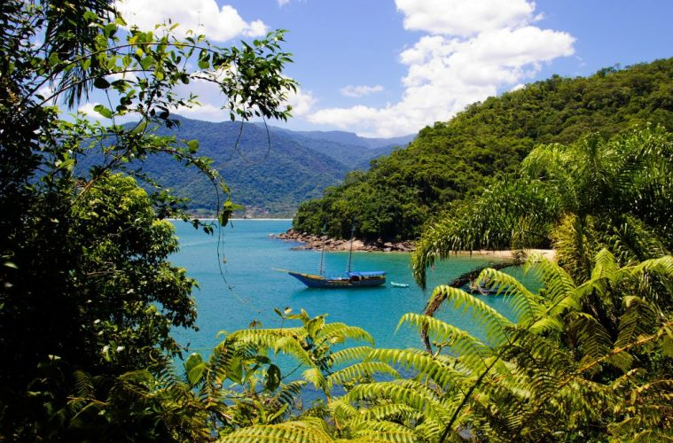 Praia do Bonet Ubatuba Brazil travel