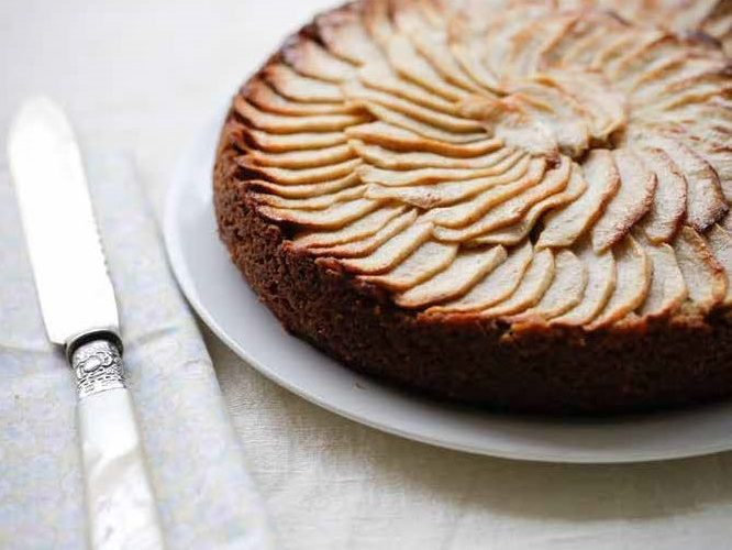 Spiced Apple Teacake vegan teacake recipe