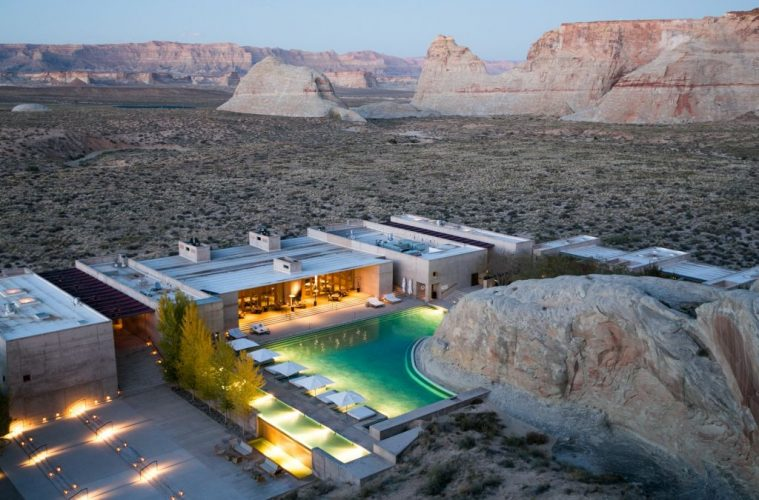 amangiri-resort-utah luxury desert experiences