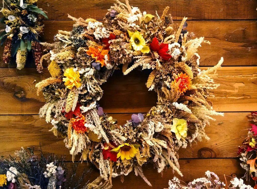 decoration-Fall wreath