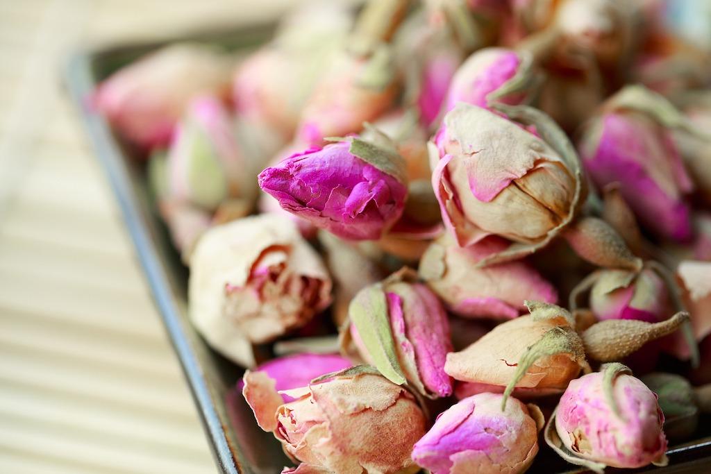 DIY Floral Tea