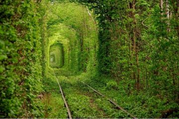 Klevan, Ukraine travel love tunnel