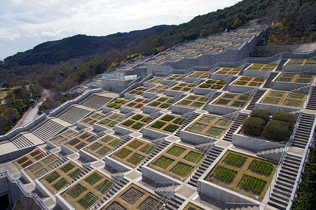 Awaji, Japan Hyakudanen (the 100 Stepped Garden)