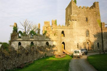 most haunted Ireland castle - Leap castle