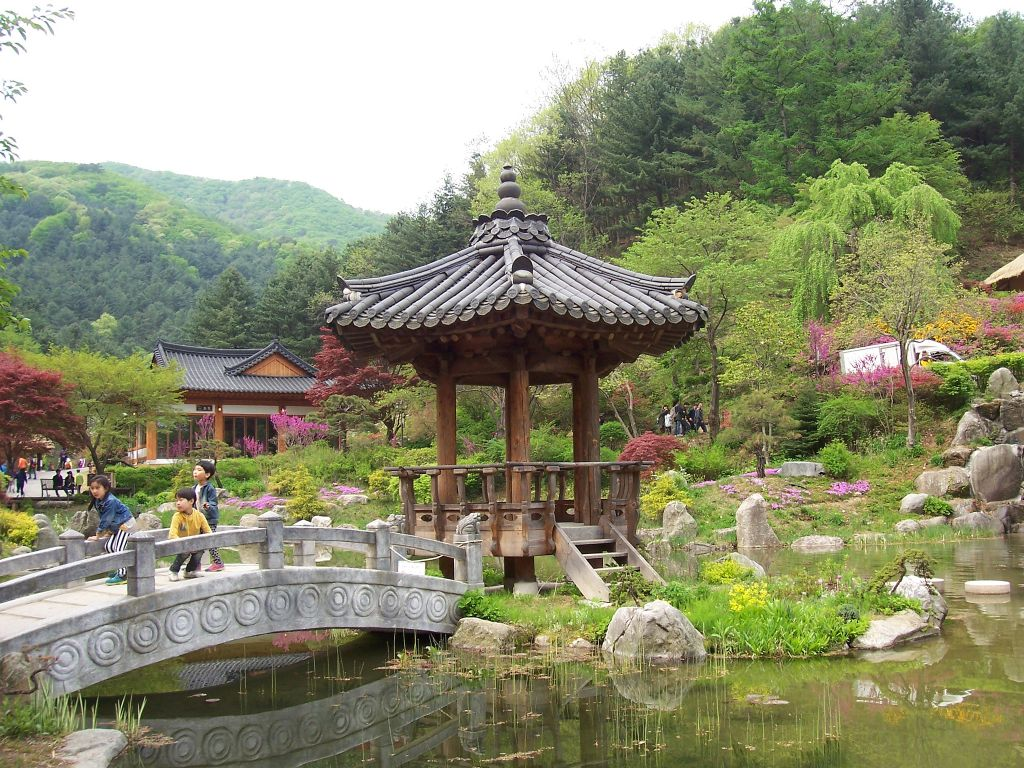 Seoul, South Korea Garden of Morning Calm