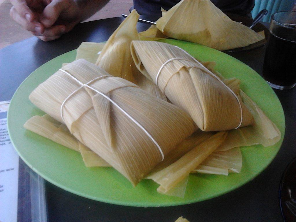Pamonha Brazil food