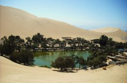 The legendary Oasis Huacachina Peru travel
