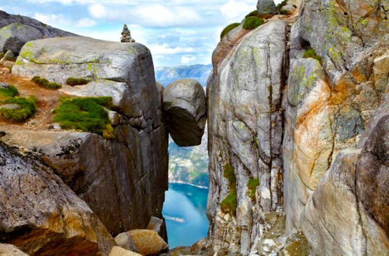 Stuck Between a Rock and a Hard Place: Norway Travel