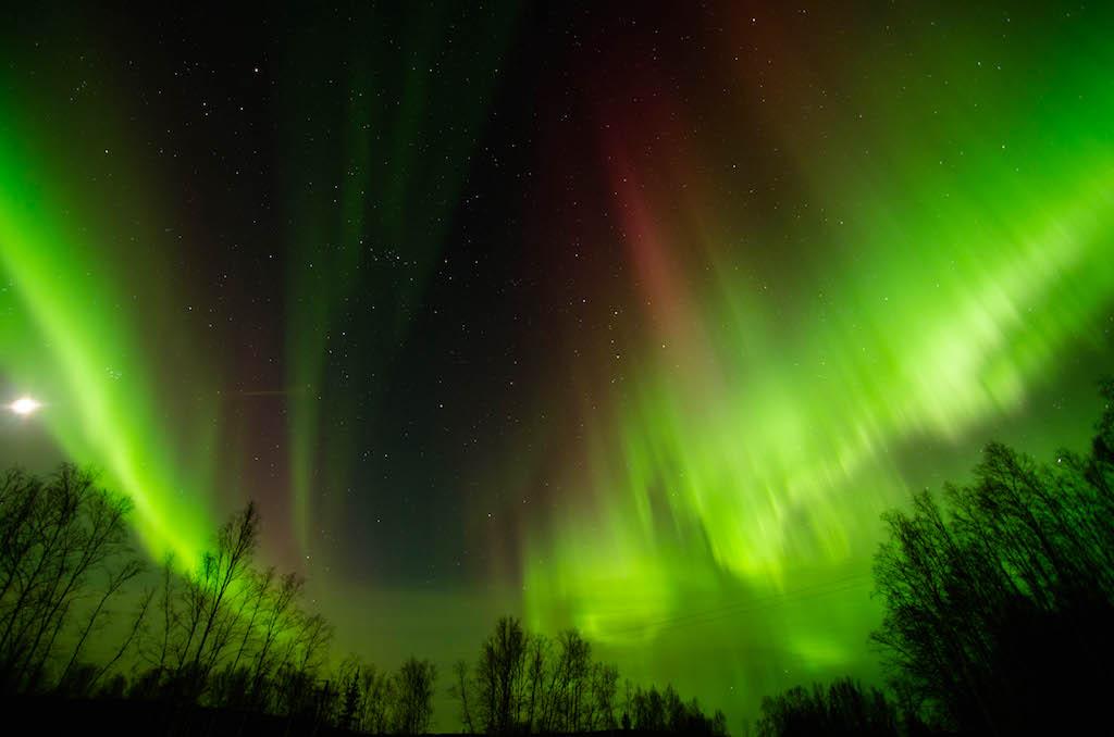 Northern Lights, Aurora Borealis, Fairbanks, AK