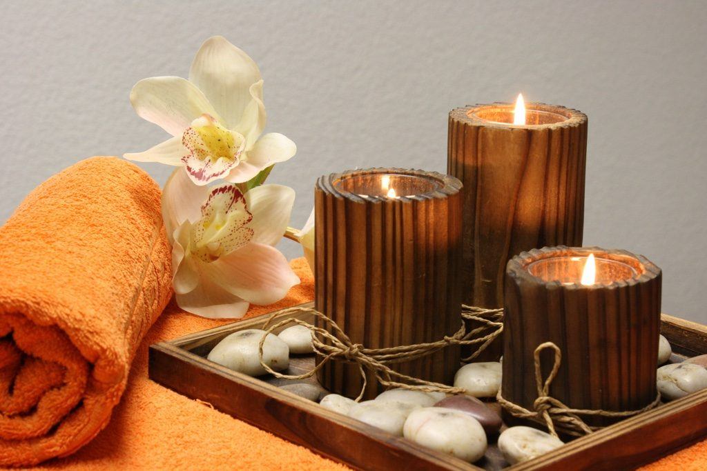 Candles diy wellness retreat