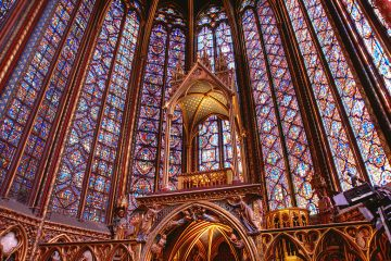 Sainte Chapelle Paris, France europe vacation