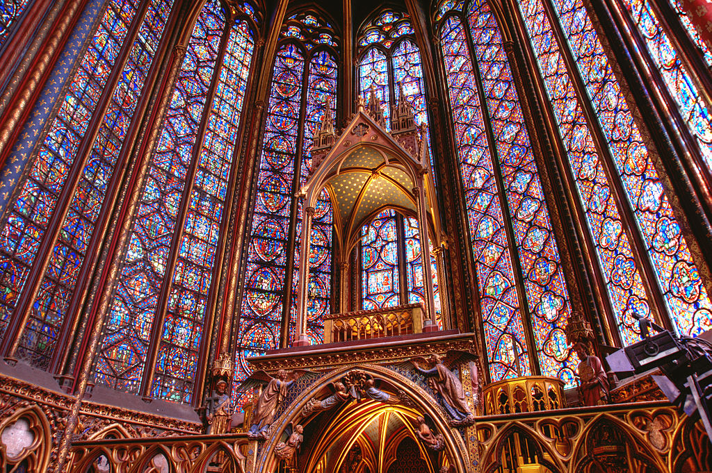 Saint Chappelle, Paris, France