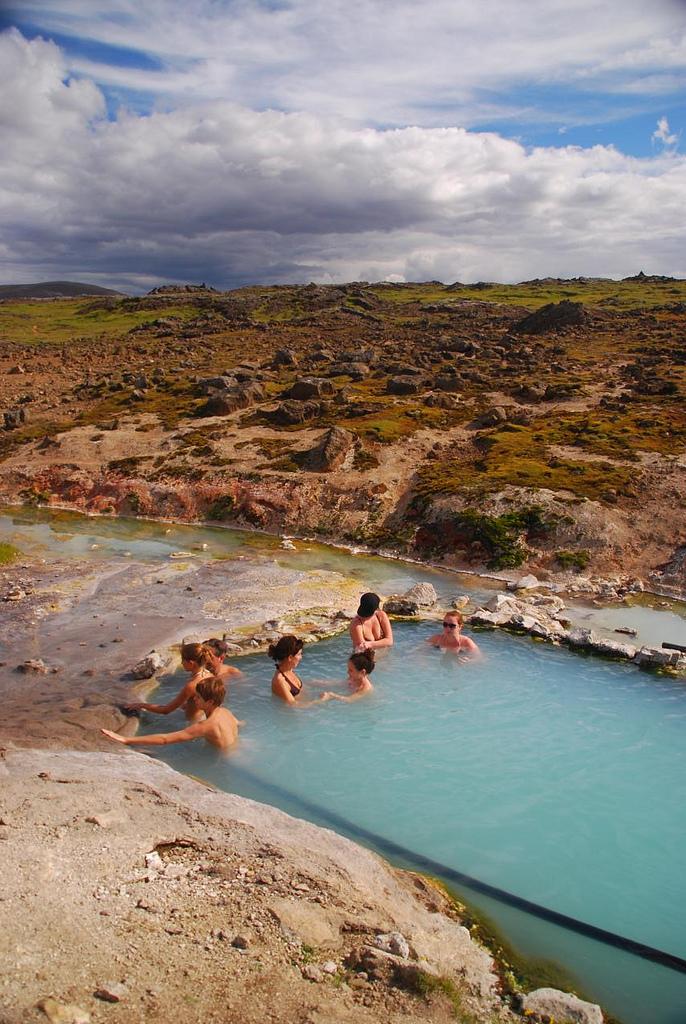 Iceland Hveravellir Hot Springs