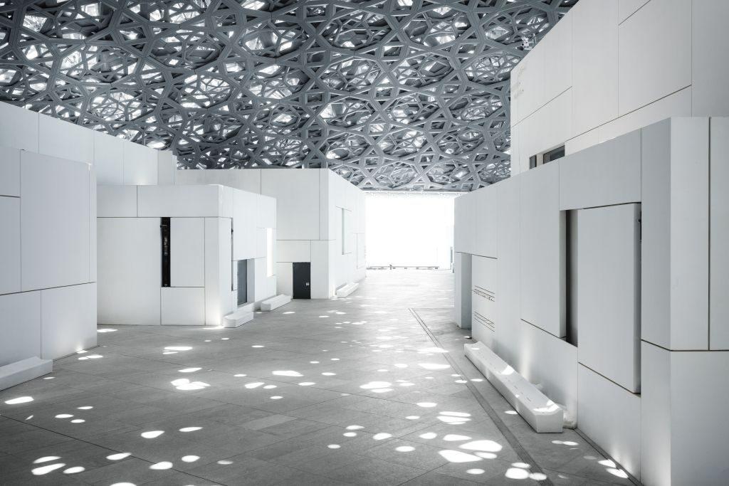 Louvre Abu Dhabi 'rain of light
