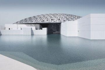 Louvre Abu Dhabi exterior