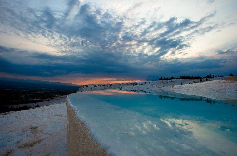 Pamukkale, Turkey hot springs