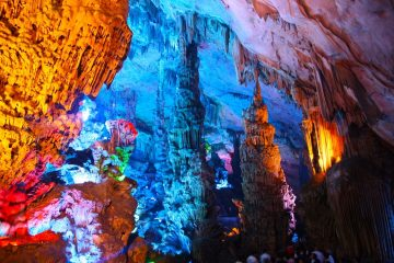 Reed flute Cave china tour