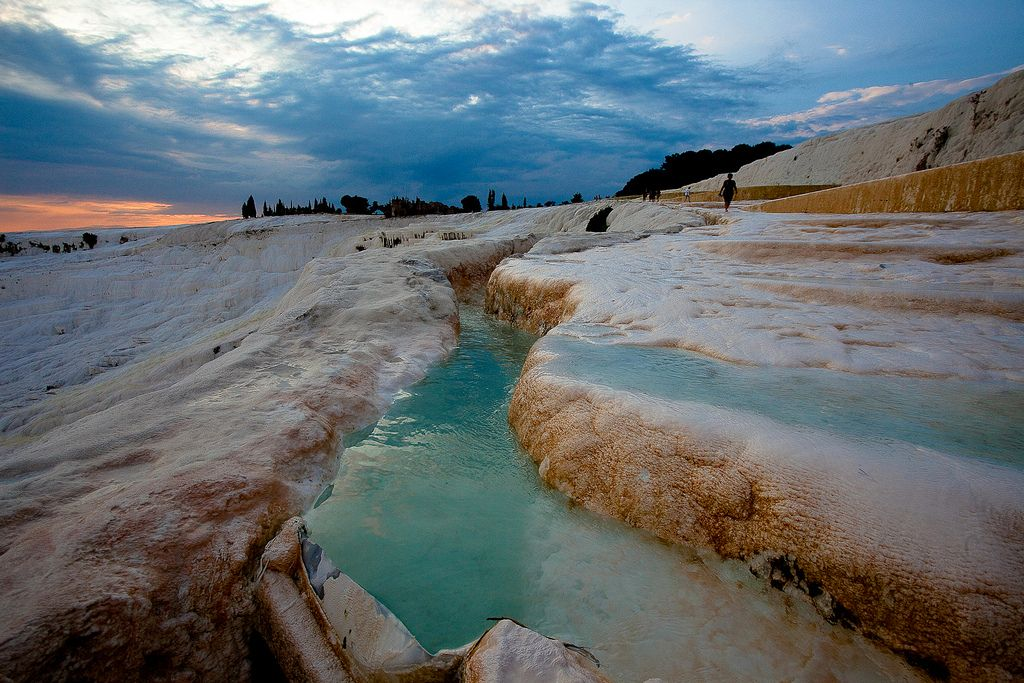 Pamukkale, Turkey hot springs