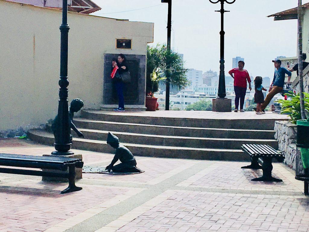 Las Peñas, Ecuador.