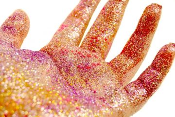 glitter - stop using glitter on kids here's why