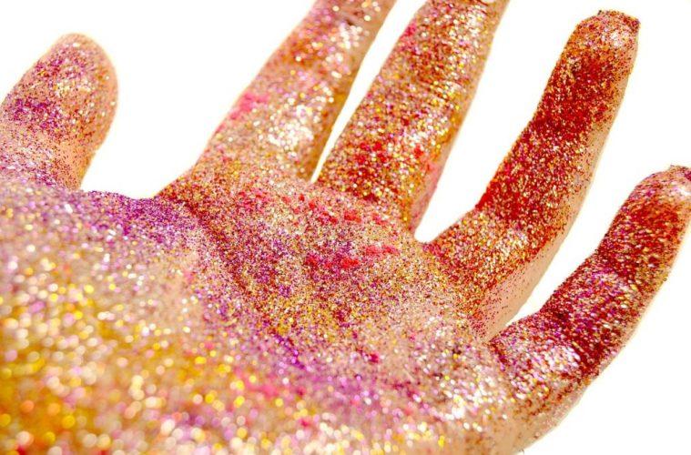 glitter - stop using glitter on kids here's why