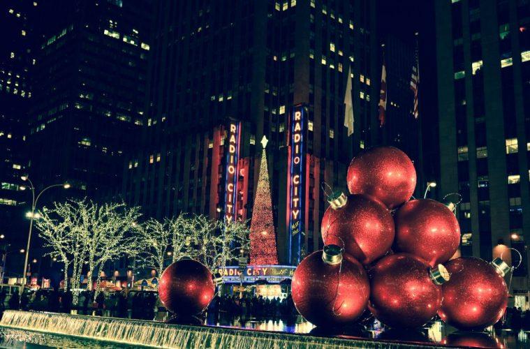 radio city, New York holidays