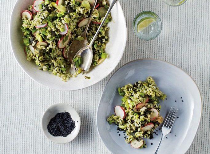 Green Sushi Salad recipe