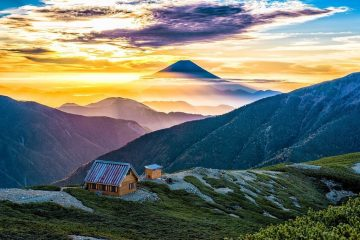 Japanese Alps 2018 top eco travel destinations
