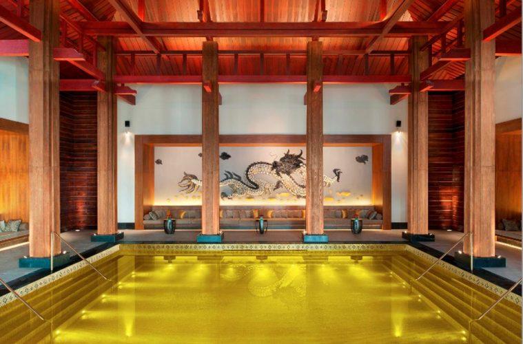 interior design St Regis hotel in Lhasa